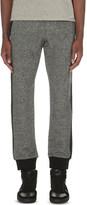 The Kooples Fine-knit cotton-jersey jogging bottoms