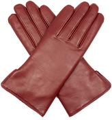 Agnelle Rabbit-fur and leather gloves