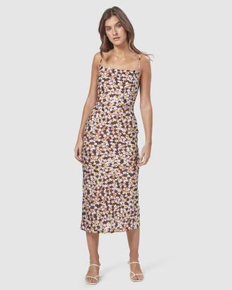 Charlie Holiday Chillie Midi Slip Dress
