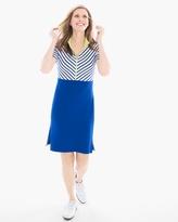 Chico's Striped Colorblock Dress