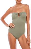 Vince Camuto Bandeau One-Piece Swimsuit