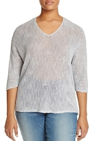 Nic And Zoe Plus Nic and Zoe Plus Sunkissed Loose Knit Top