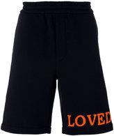 Gucci Loved Bermuda shorts - men - Cotton/Acrylic - XS