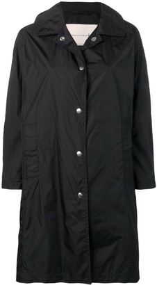 MACKINTOSH Black Nylon Single Breasted Coat LM-079ST/P