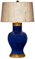 Barclay Butera For Bradburn Home Cleo Seagrass Table Lamp - Navy/Gold