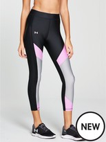 Under Armour Heatgear Armour Colour Blocked Ankle Crop Legging