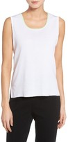 Ming Wang Women's Ming Want Tipped Knit Tank