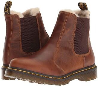 Dr. Martens 2976 Leonore Orleans (Butterscotch Orleans) Women's Boots