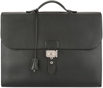 Hermes Pre Owned 2006 Sac A Depeche 38 business hand bag