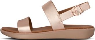 FitFlop Barra Leather Back-Strap Sandals