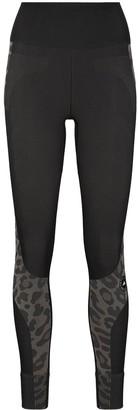 adidas by Stella McCartney Leopard Print Workout Leggings
