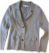 Banana Republic Grey Cotton Jacket for Women