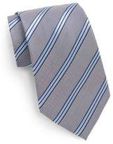 Saks Fifth Avenue Boxed Shadow Stripe Silk Tie