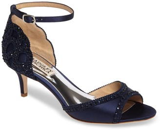 Badgley Mischka Gillian Crystal Embellished d'Orsay Sandal - Wide Width Available