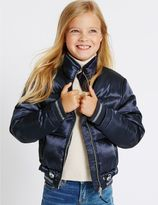 Marks and Spencer Padded Zip Through Coat (3-14 Years)
