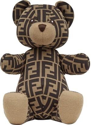 Fendi Kids FF-print teddy bear