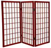 Oriental Furniture 3 ft. Tall Window Pane Shoji Screen (3 Panels)