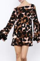 Judith March Leopard Print Dress