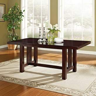 Saracina Home Cappuccino Wood Kitchen Dining Table