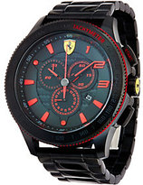 Ferrari Men's Black Stainless Steel Scuderia XX Watch