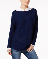 Charter Club Cashmere Ribbed Sweater, Created for Macy's