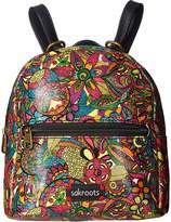 Sakroots Mini Crossbody Backpack Backpack Bags