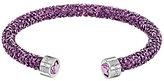 Swarovski Limited-Edition Heart Crystal Dust Cuff Bracelet