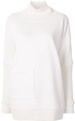 Elie Tahari Reeve roll neck jumper
