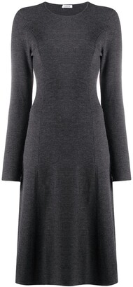 P.A.R.O.S.H. Knitted Long-Sleeve Dress