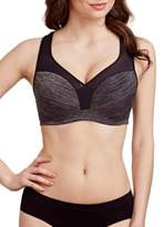 Le Mystere Heathered Padded Sports Bra