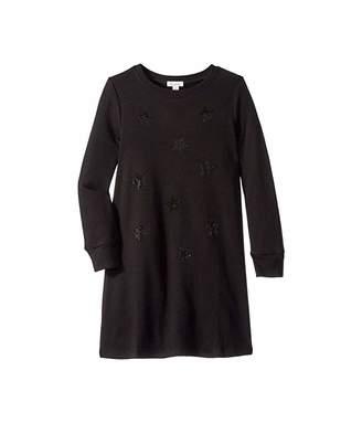 Ella Moss Rhinestone Star Sweater Dress (Big Kids)