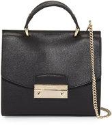 Furla Julia Mini Top Handle Crossbody Bag, Black