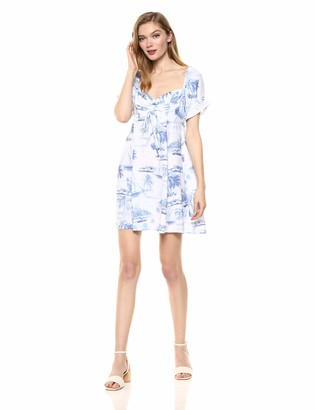 Show Me Your Mumu Women's Della Mini Dress