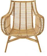 Serena & Lily Venice Rattan Chair