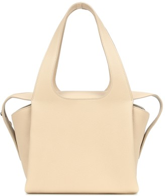 The Row TR1 leather tote
