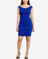 Lauren Ralph Lauren Plus Size Off-The-Shoulder Jersey Dress