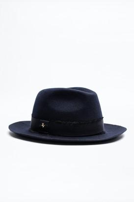 Zadig & Voltaire Alabama Ribbon Hat