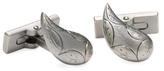 Robert Graham Etched Plated Cufflinks