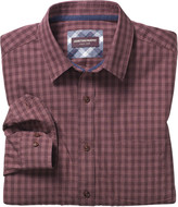Johnston & Murphy Tonal Heather Gingham Shirt