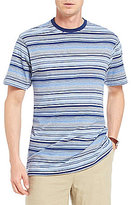 Daniel Cremieux Signature Heather Stripe Short-Sleeve Tee