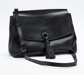 Patricia Nash Mollia Leather Top Handle Satchel