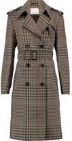 3.1 Phillip Lim Checked Wool Trench Coat