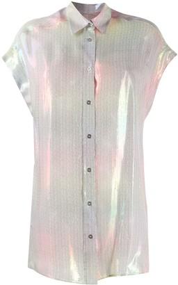 IRO Sheer Metallic Shirt