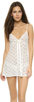 Hanky Panky Peek-a-Boo Lace Baby Doll with G-String