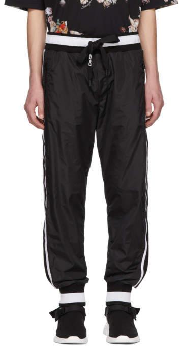 Dolce & Gabbana Black Jogging Lounge Pants
