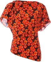 Lanvin floral print top - women - Silk - 34