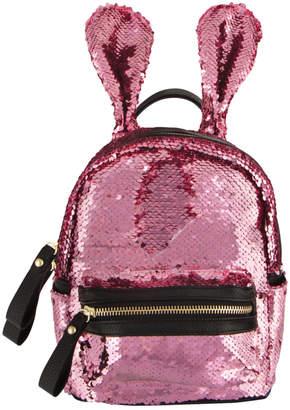 Fashion Angels Sequin Bunny Mini Backpack