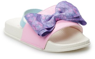 Jo-Jo JoJo Siwa Mermaid Toddler Girls' Slide Sandals
