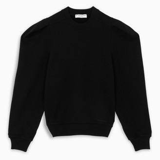 Givenchy Black puff-sleeve sweatshirt