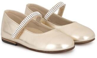 Swarovski Babywalker crystal ballerinas